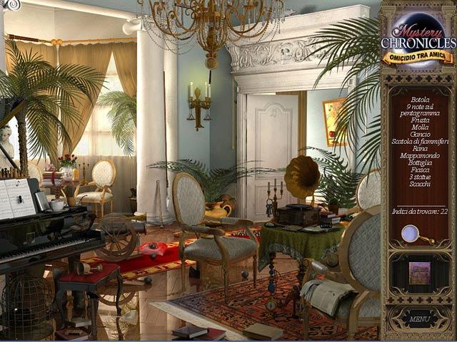 Screenshot Del Gioco 3 Mystery Chronicles: Omicidio tra amici