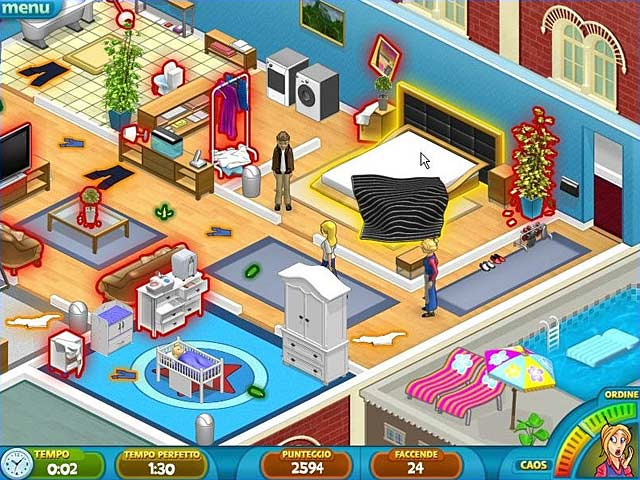 Screenshot Del Gioco 3 Nanny Mania 2: Goes to Hollywood