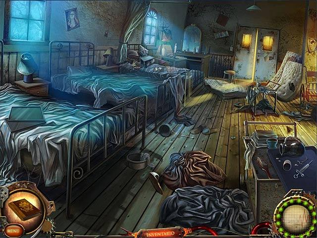 Screenshot Del Gioco 2 Nightfall Mysteries: Il manicomio di Ashburg