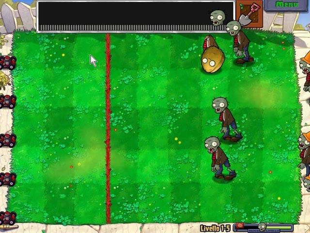 Screenshot Del Gioco 2 Piante contro Zombi