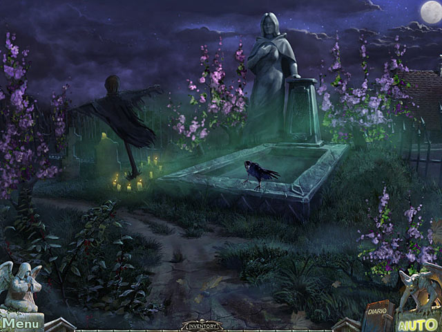 Screenshot Del Gioco 3 Redemption Cemetery: La maledizione del corvo