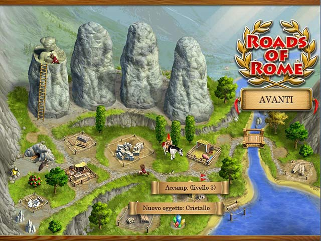 Screenshot Del Gioco 1 Roads of Rome