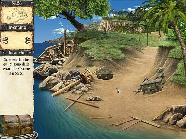 Screenshot Del Gioco 2 Robinson Crusoe e i pirati maledetti