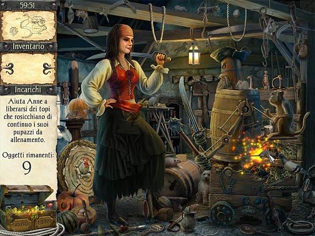 Screenshot Del Gioco 3 Robinson Crusoe e i pirati maledetti