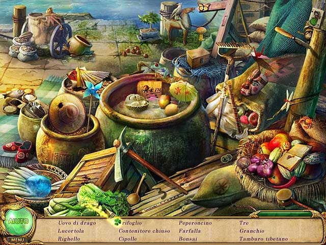 Screenshot Del Gioco 1 Shaolin Mystery: ll leggendario bastone del drago di giada