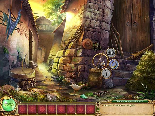 Screenshot Del Gioco 2 Shaolin Mystery: ll leggendario bastone del drago di giada
