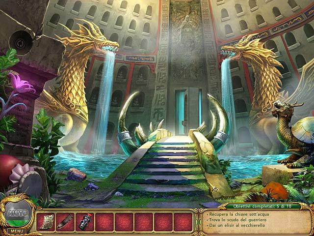 Screenshot Del Gioco 3 Shaolin Mystery: ll leggendario bastone del drago di giada