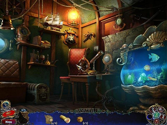 Screenshot Del Gioco 2 Sherlock Holmes Il mastino dei Baskerville
