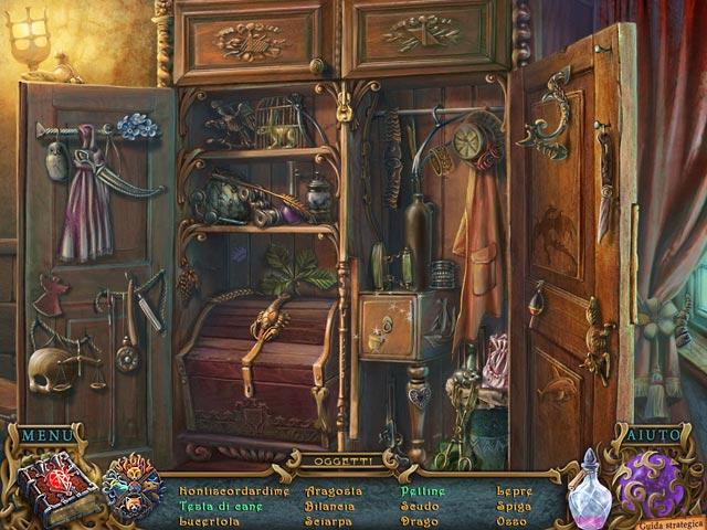 Screenshot Del Gioco 1 Spirits of Mystery: Il minotauro oscuro Edizione Speciale