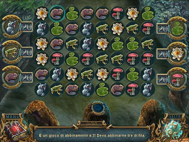 Screenshot Del Gioco 3 Spirits of Mystery: Il minotauro oscuro Edizione Speciale