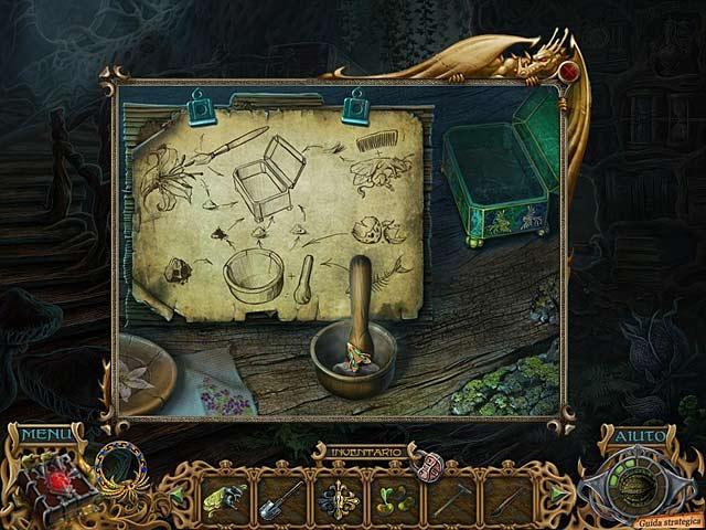 Screenshot Del Gioco 2 Spirits of Mystery: La canzone della fenice Edizione Speciale