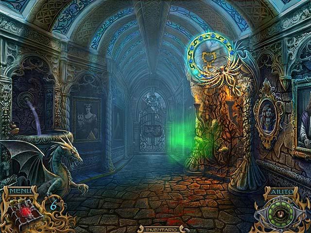 Screenshot Del Gioco 3 Spirits of Mystery: La canzone della fenice
