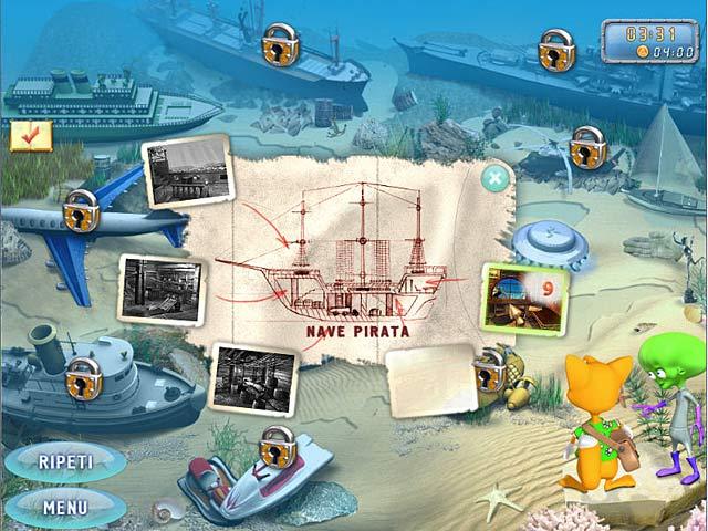 Screenshot Del Gioco 3 Sprill: The Mystery of the Bermuda Triangle