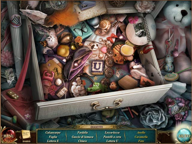 Screenshot Del Gioco 3 Suburban Mysteries: Il labirinto del passato