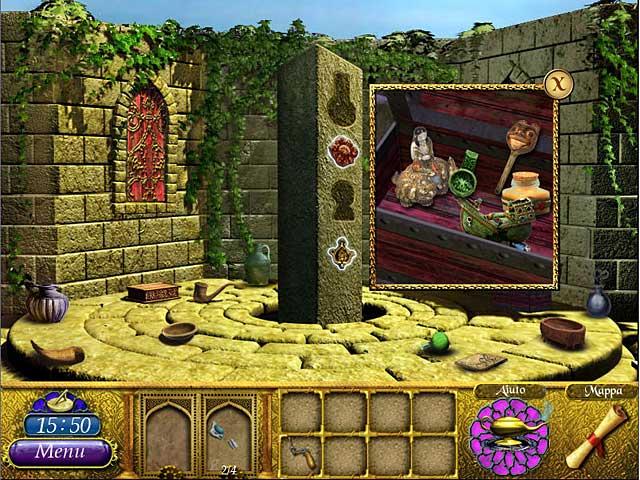 Screenshot Del Gioco 1 The Sultan's Labyrinth: Un sacrificio reale