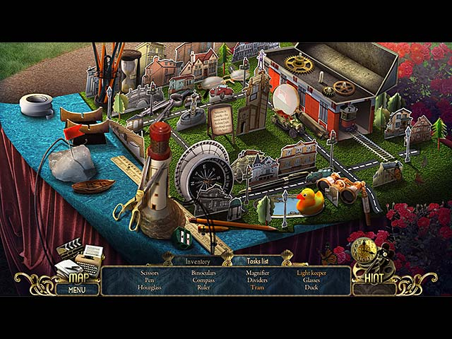 Screenshot Del Gioco 1 Surface: Reel Life Collector's Edition