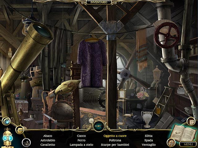 Screenshot Del Gioco 2 The Clockwork Man: The Hidden World