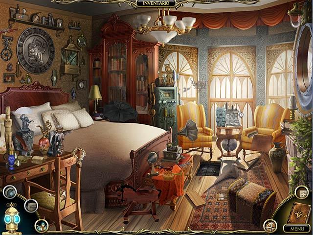Screenshot Del Gioco 3 The Clockwork Man: The Hidden World