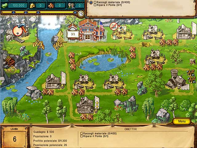 Screenshot Del Gioco 3 The Golden Years: Way Out West