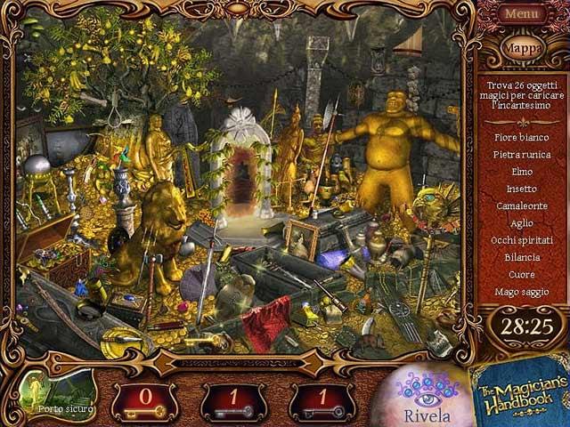 Screenshot Del Gioco 1 The Magician's Handbook II: Blacklore