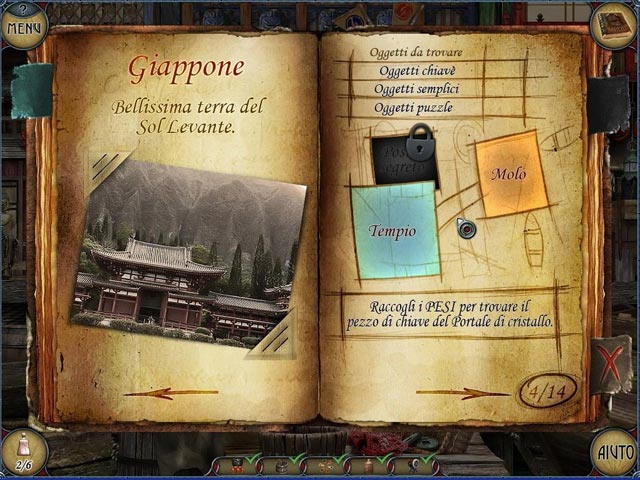 Screenshot Del Gioco 2 The Mystery of the Crystal Portal