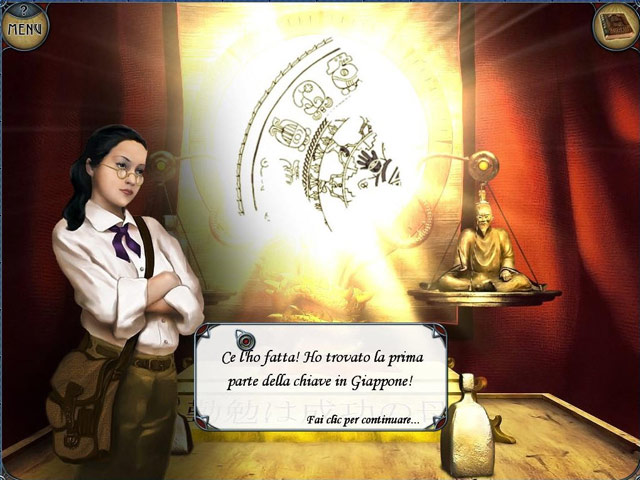 Screenshot Del Gioco 3 The Mystery of the Crystal Portal