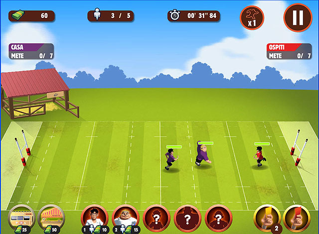 Screenshot Del Gioco 1 The Rugger Boys
