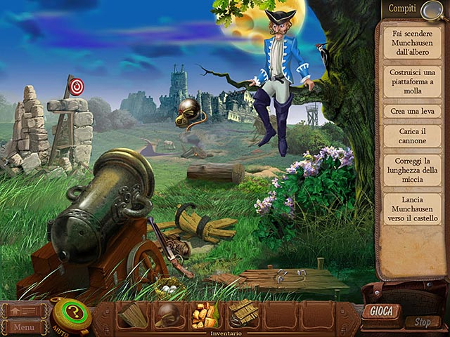 Screenshot Del Gioco 1 The Surprising Adventures of Munchausen