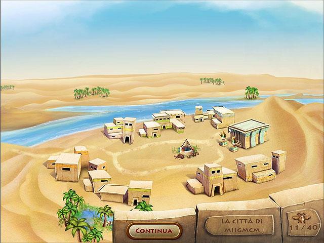 Screenshot Del Gioco 2 The Timebuilders: Pyramid Rising