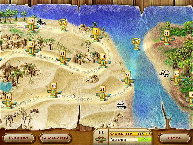 Screenshot Del Gioco 3 The Timebuilders: Pyramid Rising