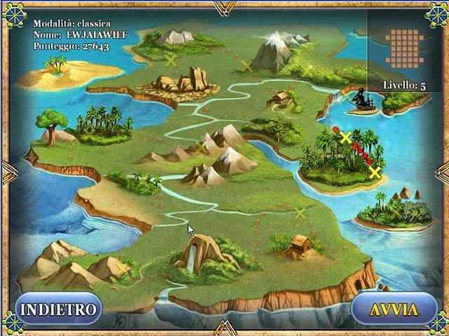 Screenshot Del Gioco 3 Treasure Island