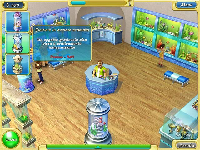 Screenshot Del Gioco 2 Tropical Fish Shop 2