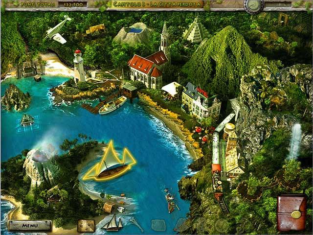 Screenshot Del Gioco 2 Undiscovered World: The Incan Sun