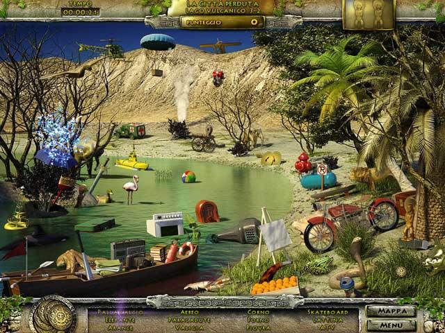 Screenshot Del Gioco 3 Undiscovered World: The Incan Sun