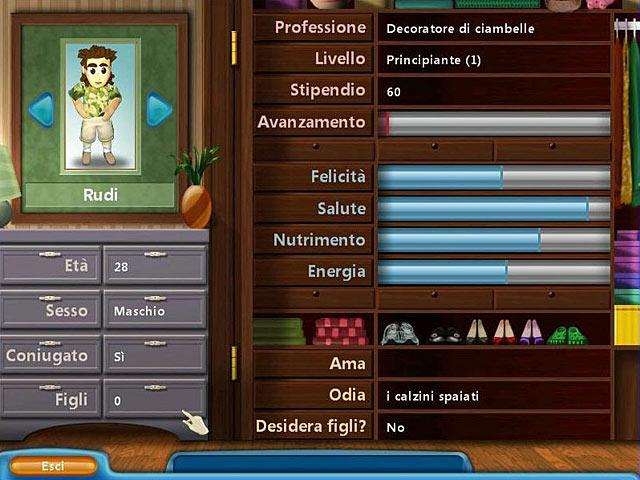 Screenshot Del Gioco 2 Virtual Families