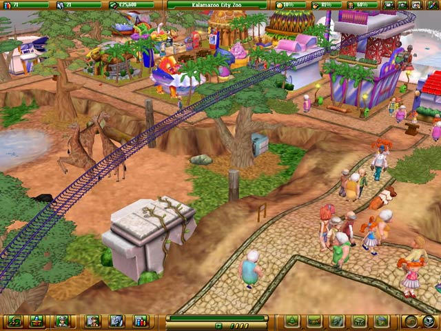Screenshot Del Gioco 3 Zoo Empire