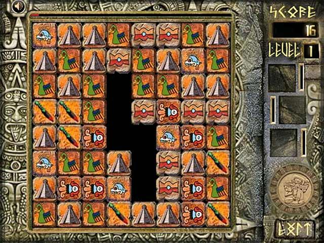 ゲームのスクリーンショット 2 Aztec Blocks