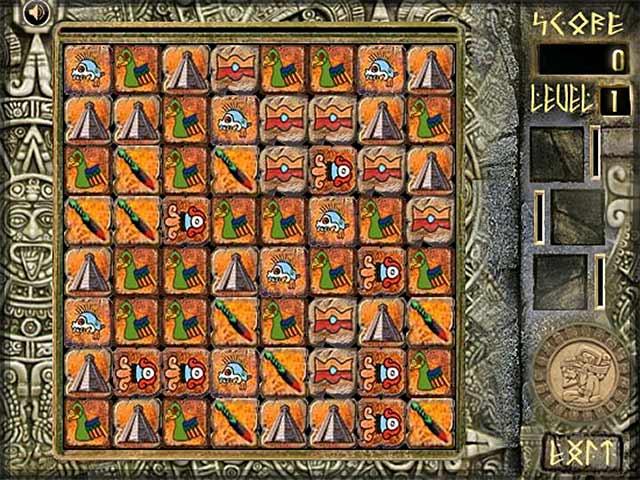ゲームのスクリーンショット 3 Aztec Blocks