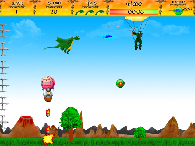 ゲームのスクリーンショット 1 Brave Dragon