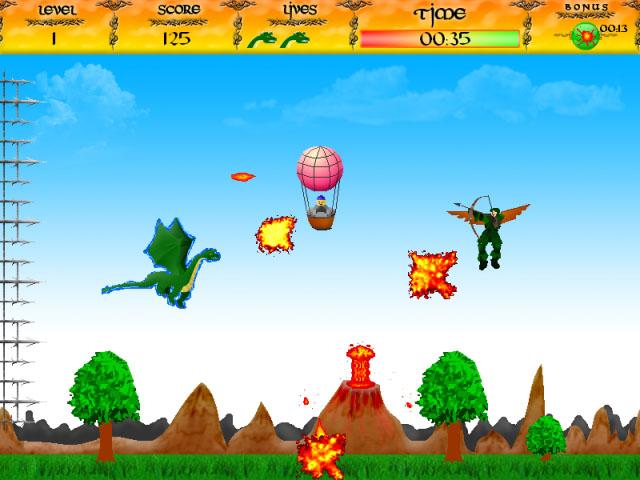 ゲームのスクリーンショット 2 Brave Dragon