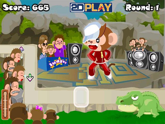 ゲームのスクリーンショット 1 Dance Monkey Dance