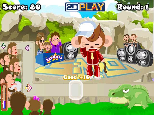 ゲームのスクリーンショット 3 Dance Monkey Dance