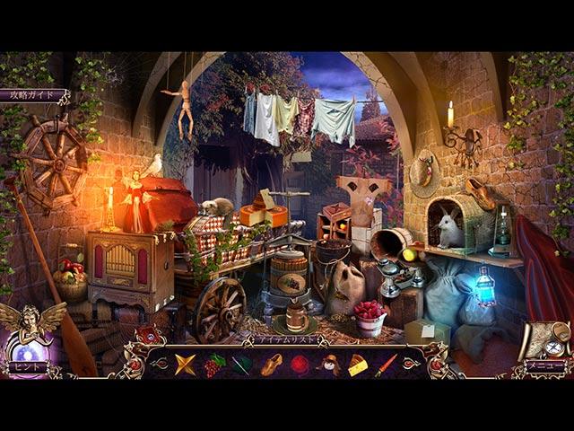 ゲームのスクリーンショット 1 デス ページ:呪われた図書館 コレクターズ・エディション