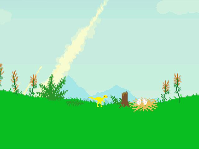 ゲームのスクリーンショット 1 Dino Run