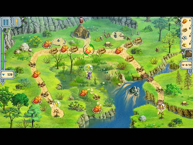 ゲームのスクリーンショット 3 ドルイド キングダム