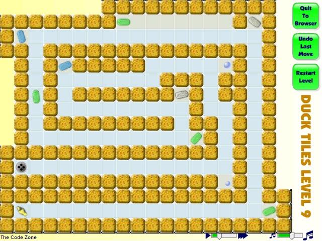 ゲームのスクリーンショット 1 Duck Tiles