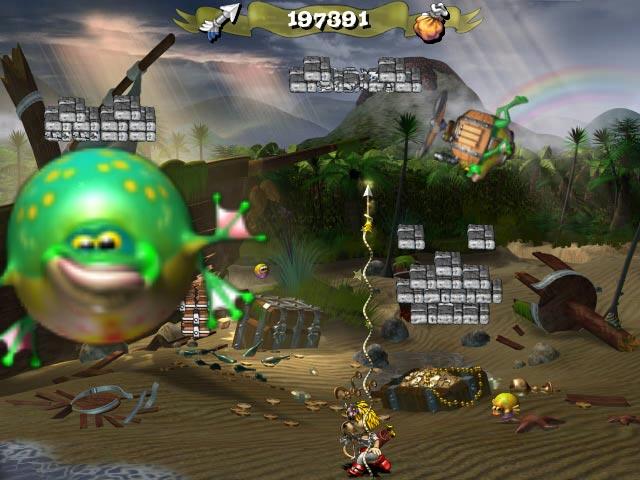 ゲームのスクリーンショット 2 フロッギー キャッスル 2