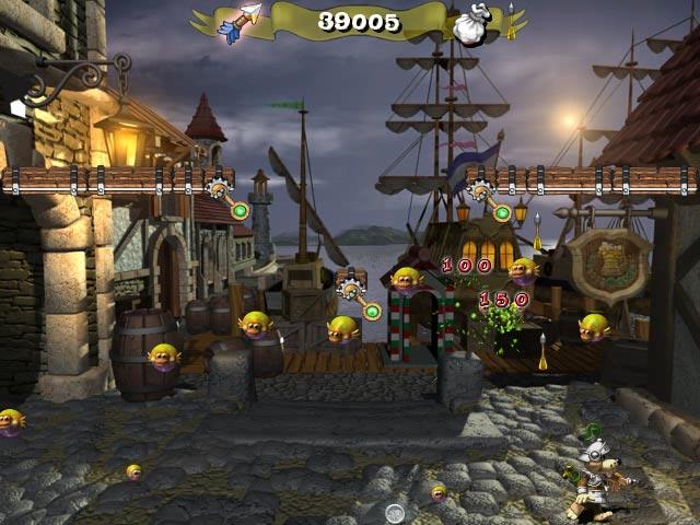 ゲームのスクリーンショット 3 フロッギー キャッスル 2