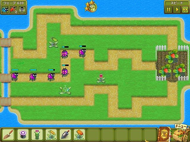 ゲームのスクリーンショット 1 ガーデン レスキュー