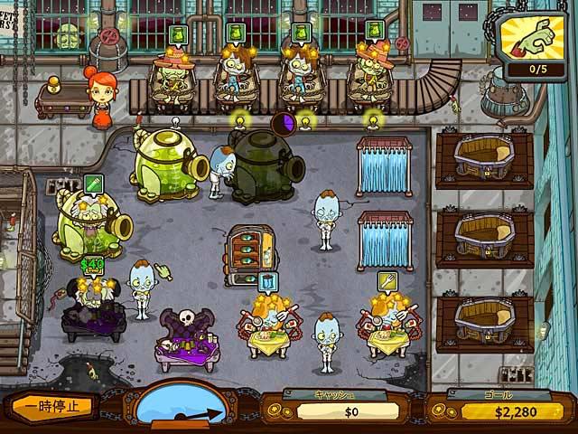 ゲームのスクリーンショット 1 グレイブ・マニア:ゾンビ大騒動!